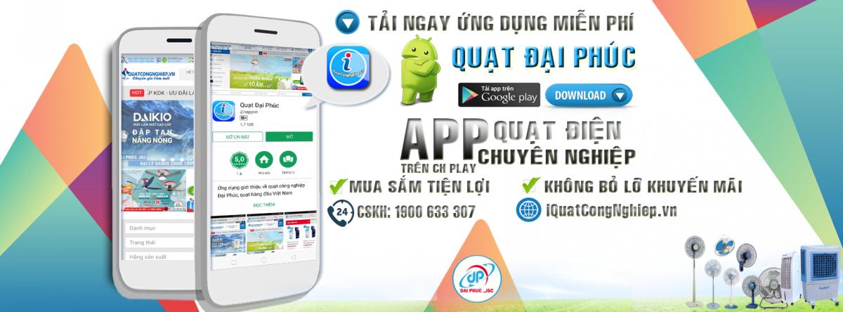 App Quạt Đại Phúc Androi trên CH Play