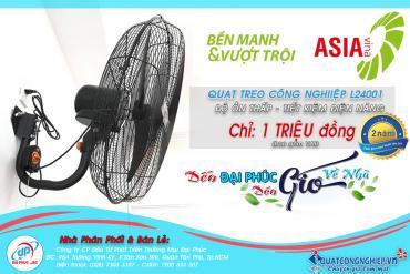 Sở hữu Quạt treo công nghiệp Asia L24001 chỉ với 1 Triệu đồng