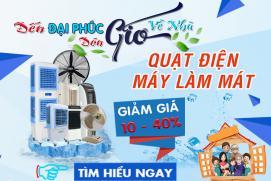 Phân phối máy làm mát Daikio tại Quận Tân Phú - TpHCM