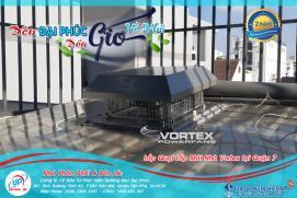 Lắp đặt Quạt thông gió mái nhà Vortex VF-355R Biệt Thự Quận 7 - Tp.HCM