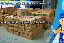 Cung cấp 100pcs Quạt công nghiệp Chinghai tại KCN Hiệp Phước - Nhà Bè