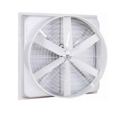 Quạt thông gió vuông Composite Hawin 1060 x 1060mm trực tiếp