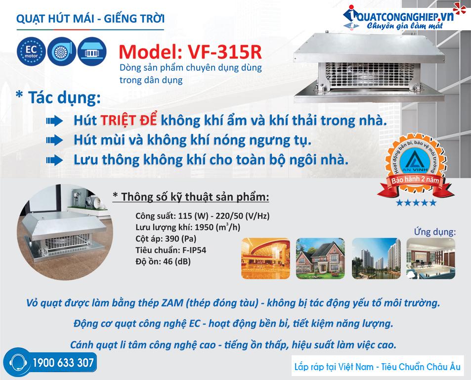 Quat-hut-mai-gieng-troi-cau-thang-vortex-VF-315R
