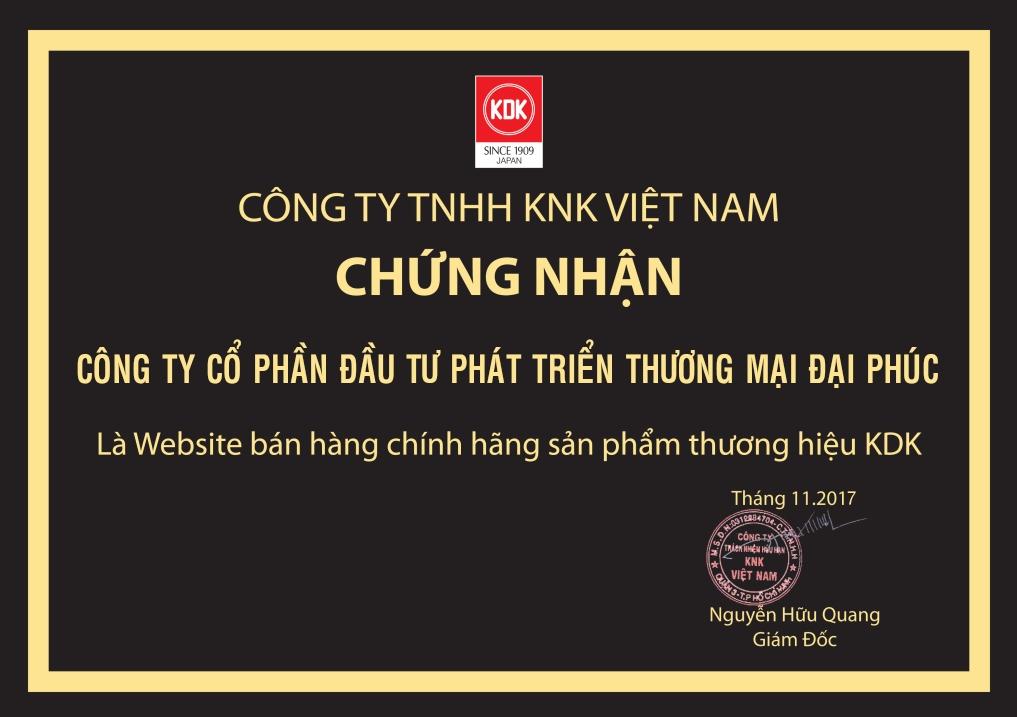 ChungNhanPhanPhoiQuatKDKChinhThuc-DaiPhucJSC