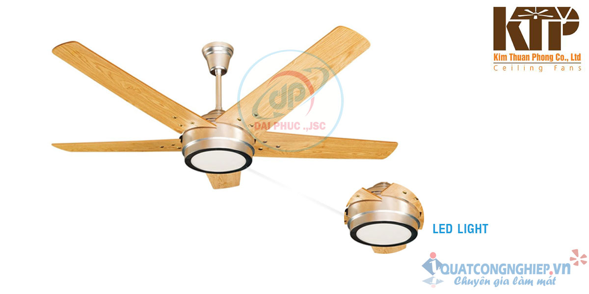 Quat-tran-LED-5-canh-go-kim-thuan-phong--HL15-LED-2