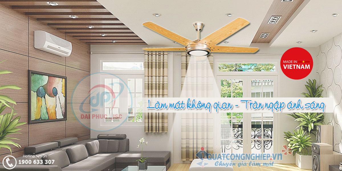 Quat-tran-LED-5-canh-go-kim-thuan-phong--HL15-LED-4