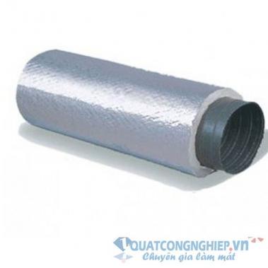Ống gió mềm vải Fiber Glass bảo ôn Daehan Hàn Quốc (cách nhiệt)