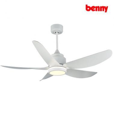 Quạt trần 5 cánh Benny BF-C52LUX Đèn LED - Màu trắng
